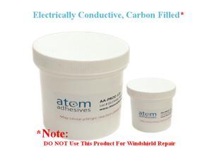 Electrically Conductive Epoxy, Carbon Filled Adhesive, Room Temperature Cure, AA-CARB 61, 250gm kit