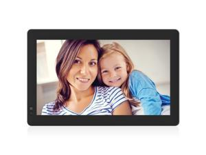 Digital Photo Frame 13 Inch Wi-Fi Cloud Digital Photo Frame 1024600 Pixels High Resolution High Resolution LED Screen USB and SD Card Slots Android App Perfect for Both The Home and Office Suit for H