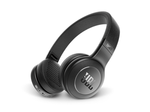 JBL Duet BT Wireless On-Ear Headphones with 16-Hour Battery, Black