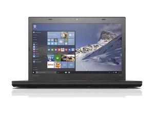 "Lenovo ThinkPad T460 14"" FHD IPS (1920x1080) Ultrabook - Intel Core i7-6600U (Upto 3.4GHz), 16GB DDR4, 512GB SSD, WebCam, 802.11 a/c + BT 4.1, HDMI, Windows 10 Pro 64-Bit"