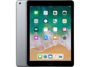 """Apple iPad 9.7"""" 6th Generation 128GB WiFi - Space Gray - A1893 MR7J2LL/A"""