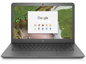 """HP 14 G5 Chromebook - Intel Celeron N3350 1.10 GHz, 4GB DDR4 RAM, 16GB eMMC SSD, WebCam, Wireless AC Wi-Fi + BT 4.2, 14.0"""" 1366x768, Chrome OS"""