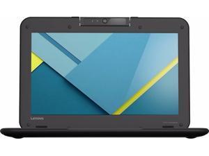 "Lenovo N22 Chromebook Laptop - Intel Celeron N3050 (1.60 GHz), 4GB Mem, 16GB eMMC Storage, 11.6"" (1366 x 768), WebCam, BT 4, 802.11ac WLAN, Chrome OS"