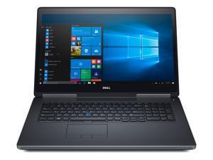 "Dell Grade A Precision 7720 17.3"" UltraSharp UHD 4K IGZO Display Laptop - Intel Core i7-6920HQ (upto 3.80GHz), 64GB DDR4, 512GB SSD+1TB HDD, NVIDIA Quadro P5000 16GB Dedicated Graphics, Windows 10 Pro"