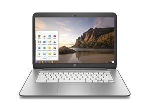 "HP Chromebook 14 Laptop - Intel Celeron 2955U, 4GB RAM, 16GB SSD, USB 3.0, WiFi+Bluetooth, Webcam, 14"" LED Backlit, Chrome OS - Grade B"