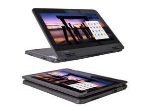 Lenovo ThinkPad Yoga 11e Touchscreen Chromebook (3rd Gen) Laptop - Intel Celeron N3160 Quad-Core Processor, 4GB RAM, 16GB SSD, Wi-Fi + BT, WebCam, Chrome OS