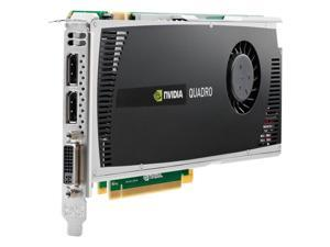 nVidia Quadro 4000 2GB GDDR5 PCI-E x16 2.0 Graphics Video Card With DVI and DisplayPort Outputs 38XNM Standard Height Workstation Video Card