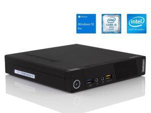 Lenovo ThinkCentre M93p Tiny Desktop - 4th Gen Intel Core i5-4570T (Up to 3.60GHz), 16GB RAM, NEW 480GB SSD, DisplayPort, VGA, LAN, Wi-Fi, Windows 10 Pro, Keyboard & Mouse - Grade A
