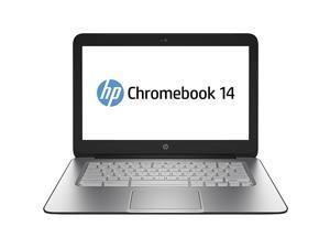 HP Chromebook 14 Laptop - 14-inch HD LED Backlit, Intel Celeron 2955U Dual Core, 4GB RAM, 16GB eMMC, USB 3.0, Bluetooth, Wi-Fi, Webcam, Chrome OS - Grade B