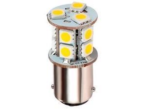 1076 LED Replacement Bulb RV Warm White 12V 24V BA15D T25 base