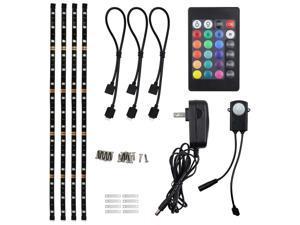 TORCHSTAR LED Multi-color Strip Light for Computer, RGB TV Backlight Kit