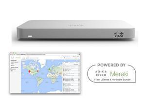 Cisco Meraki MX64 Router Security Appliance Bundle with 3 Year License Bundle
