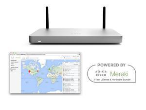 Cisco Meraki MX67W Router Security Appliance with 802.11ac WiFi Bundle with 3 YR Enterprise License