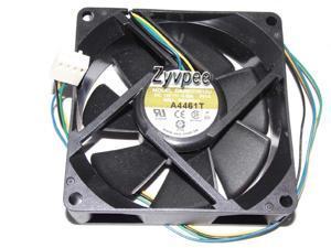 Zyvpee avc 80mm DA08025B12U -P014 12V 0.35A 4 wires 4 pins  8cm cpu cooling fan