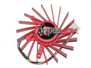 Zyvpee power logic PLD06010B12HH 12V 0.4A 4 wires 4 pins Cooling Fan