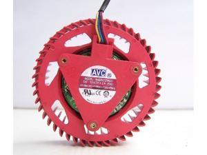 AVC BASA0725R2U 12V 1.2A 4 Wires Circular VGA Cooler Graphics Card Fan For ATI Radeon HD4870 5870 HD5850 5970 HD6970