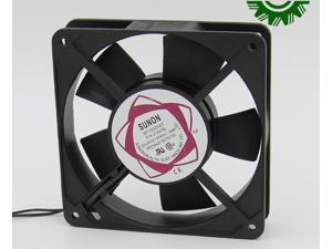 10 Pcs for Square SUNON SF12025AT P/N 2122HSL AC Axial Fan with AC 220/240V 50/60Hz 0.10A 2 Wires