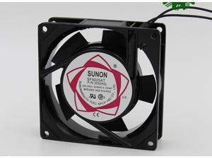 Square SUNON SF9225AT P/N 2092HSL AC Axial Fan with AC 220/240V 50/60Hz 0.10A 2 Wires