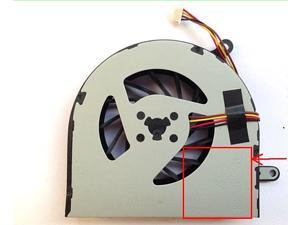 Delta DC Cooling fan with 4 Wires 4Pins connector For LENOVO Ideapad G400 G500 G405 G505 G410 G490 G510