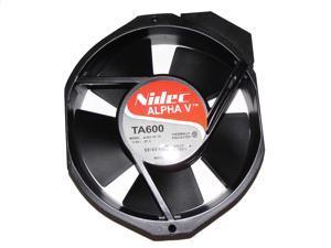 Nidec Alpha V 17238 172*38mm 930713 TA600 A30318-10 115V 0.35A 2Pin AC Cooling Fan