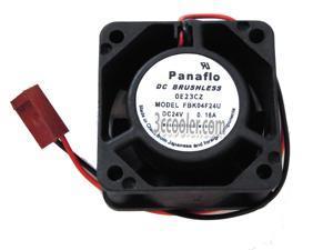Panaflo 4020 40*20mm FBK04F24U 24V 0.16A 2 Wires 2 Pins Case fan 4CM inverter cooler