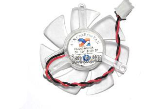ARX FS1250-A1012A 12V 0.19A frameless 2 wires 2 pin vga fan HD6450  E520  h515 graphics card cooler
