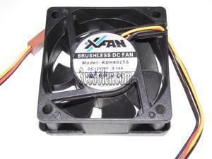 2 Zyvpee 60x60x25mm KD2406PTB1 .GN 6cm 24V 2.6W 2Wire Inverter Fan