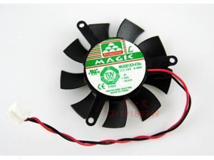 Magic MGA5012LR-A10 12V 0.08A 2 wires 2 pins 2200rpm vga fan for HD6450 E520 h515 etc.