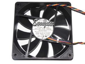 Original Pc Case Fan For Nmb-mat 4710kl-04w-b56 12cm 12025 120mm 0.72a 4-wire Pwm Industrial Case Axial Cooling Fans Thermostat 12025 Computer & Office