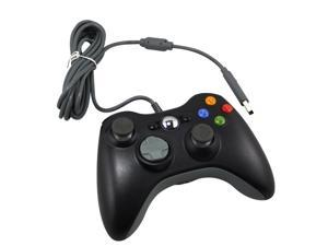 Wired USB Game Pad Joysticks Controller Reomte For Microsoft xBox 360 - Black (Althemax)