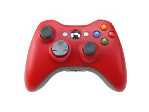 Wireless Game joysticks Remote Controller for Microsoft Xbox 360 Console - Red (Althemax)