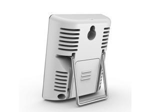 Baldr Thermo-Hygrometer Mini Digital Thermometer, White