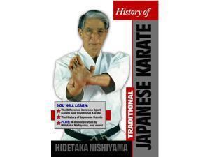 History Traditional Japanese Karate DVD Hidetaka Nishiyama -VD9043A