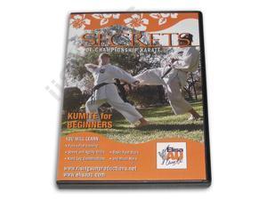 Secrets Championship Karate Kumite Beginners DVD Au -VD6793A