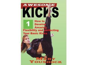 Awesome Series #1 Women Karate Kicking Taekwondo Karate Kenpo DVD Mary Youshock -VD3032A