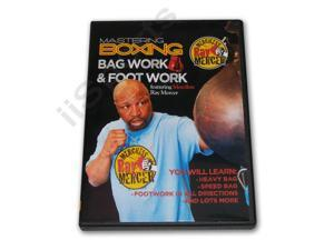 Mastering Boxing Mastering Bag & Foot Work DVD Mercer -VD7014A