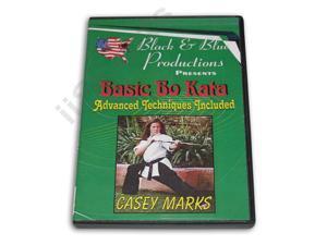 Tournament Karate Advanced Bo Staff Kata Techniques DVD Casey Mark -VD6898A