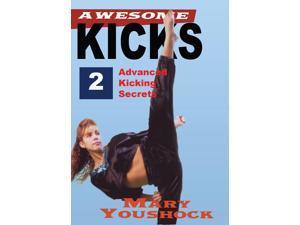 Awesome Series #2 Advanced Kicking Taekwondo Karate Kenpo DVD Mary Youshock -VD3033A