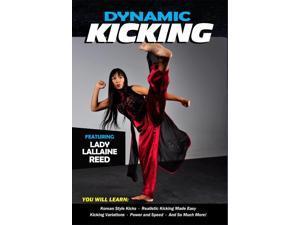 Dynamic Kicking DVD Lallaine Reed Korean Martial Arts taekwondo flexibility -VD9344A