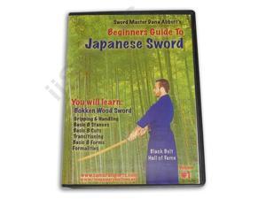 Beginner Guide Japanese Sword #1 Bokken Wood DVD Dana Abbott -VD6796A