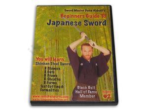 Beginner Guide Japanese Sword #2 Shinken Steel DVD Dana Abbott -VD6795A