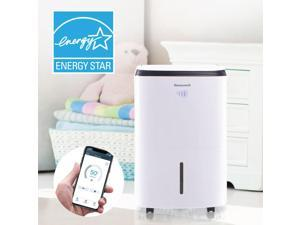HONEYWELL Smart Wi-Fi Energy Star Dehumidifier for Basement & Large Room Up to 4000 Sq. Ft.