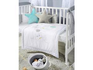 Disney Baby Dumbo Dream Big Cotton 3 Piece Crib Bedding Set