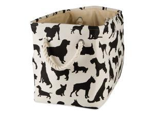 DII Polyester Pet Bin Dog Show Rectangle Small