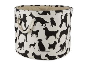 DII Polyester Pet Bin Dog Show Round Small