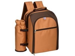 Backpack Style 2-Person Picnic Kit Cooler