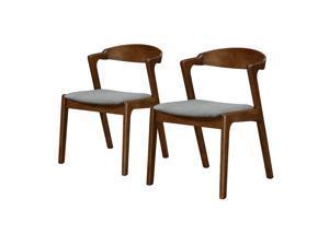 Ergode Swansea Fabric Chair, (Set of 2)
