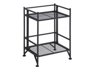 Ergode Xtra Storage 2 Tier Folding Metal Shelf