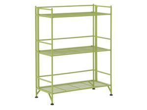 Ergode Xtra Storage 3 Tier Wide Folding Metal Shelf