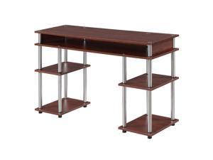 Ergode Designs2Go No Tools Student Desk with Shelves